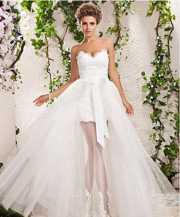 Свадебные юбки красивые