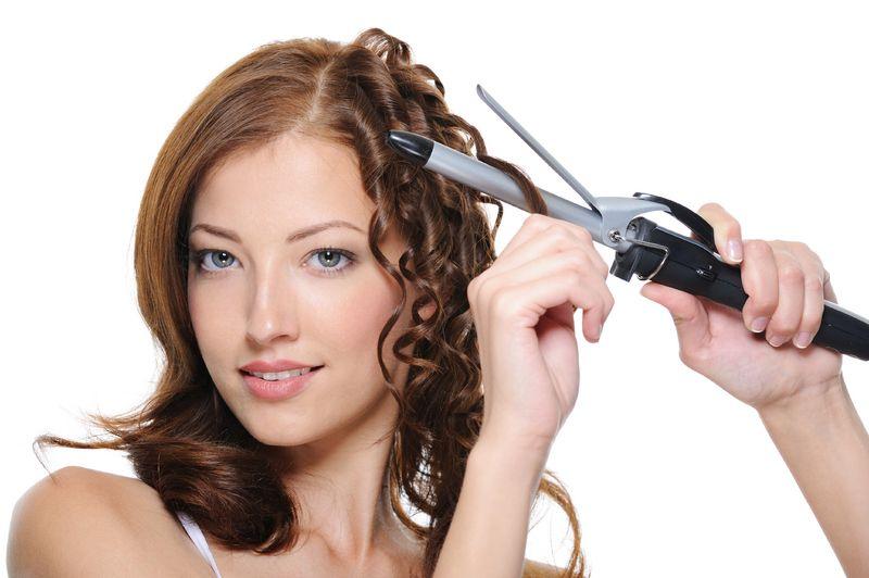 Как по быстрому накрутить волосы