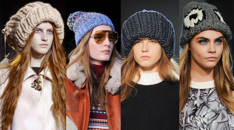 Модная зимняя шапка 2017