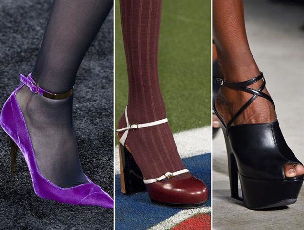 Ремешки на обуви