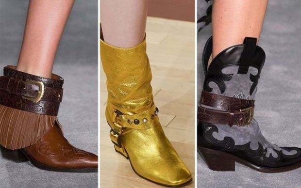 Купить обувь в стиле кантри