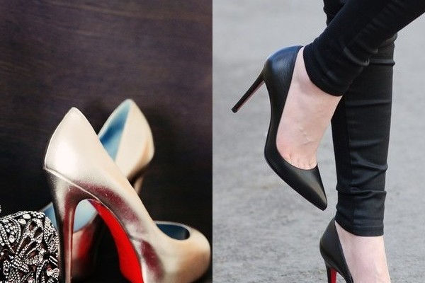 Изящные туфли на шпильке