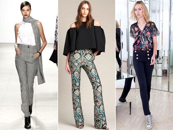 Какие фасоны брюк модны в 2017 году