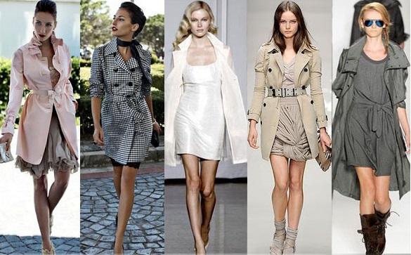 Модные тренчи и куртки