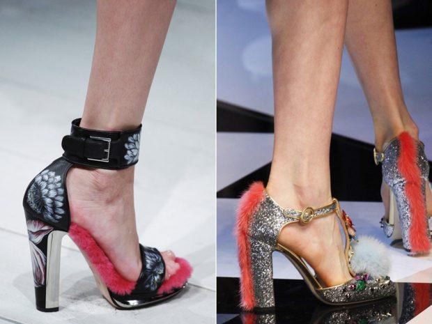 Декорированные туфли