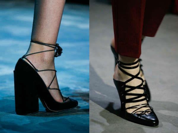 Шнурованные туфли