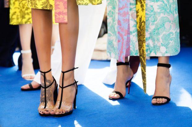 Стильные туфли на шпильке