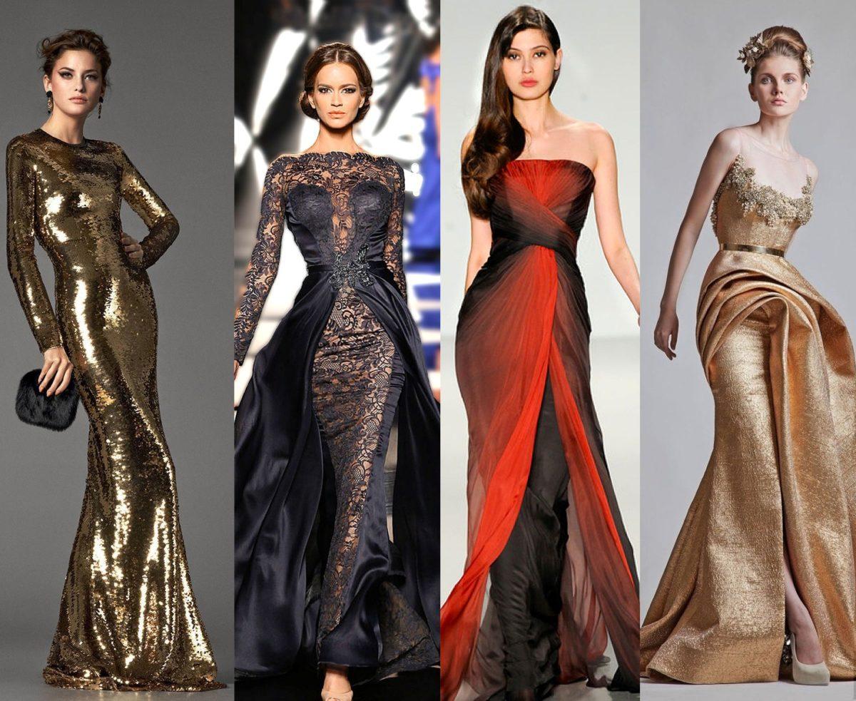Модные платья для нового года