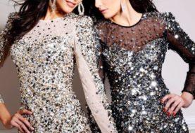 Платья на новый год - модные новогодние платья + фото