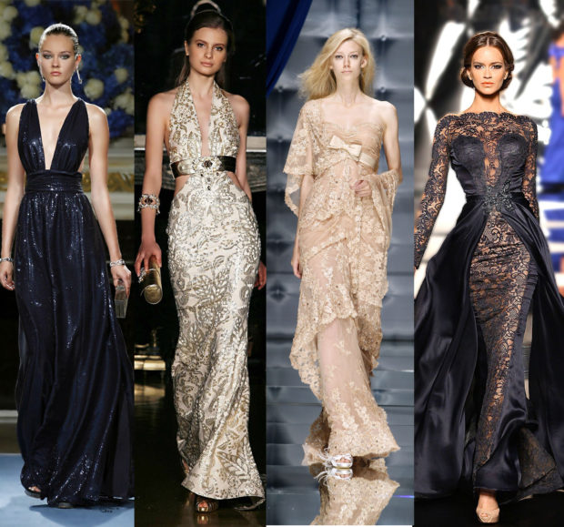 Шикарные блестящие платья