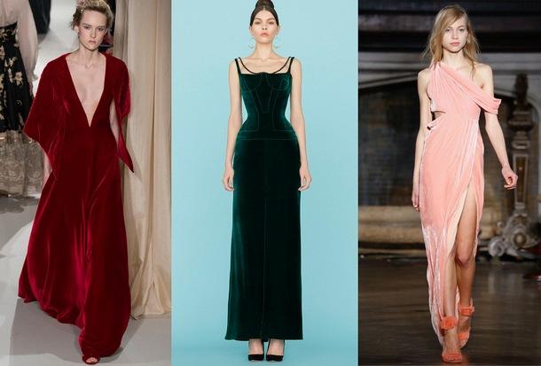 Яркие оттенки платьев