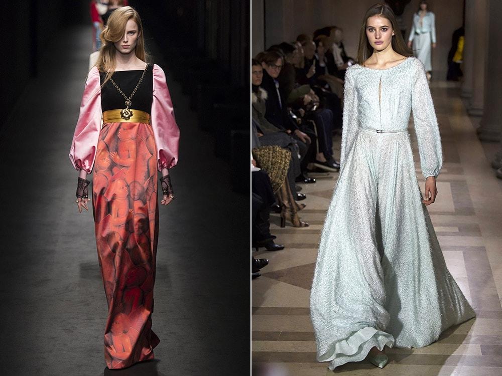 Самые модные рукава на платья
