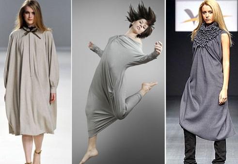 Мешковатые платья