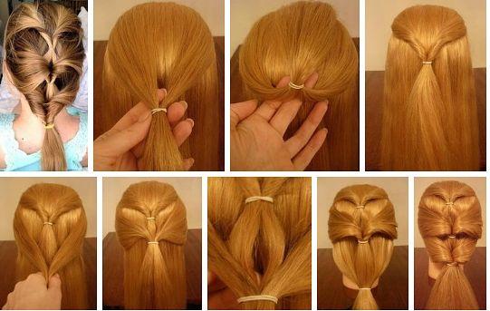 Легкие прически своими руками пошагово фото на длинные волосы