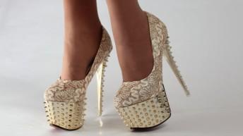 Вечерние туфли : подбираем обувь для праздника
