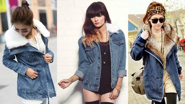 Джинсовые куртки для зимы