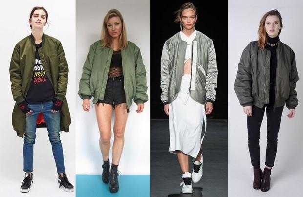 Объемные куртки