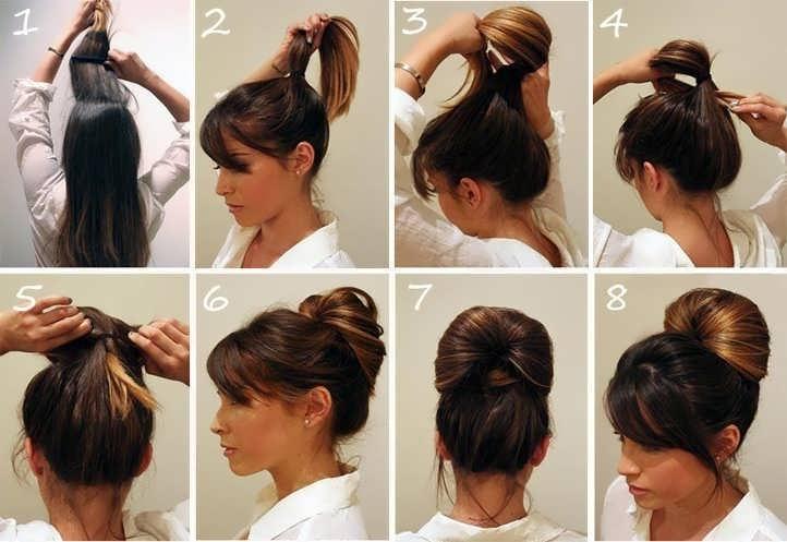 Как сделать своими руками красивую прическу