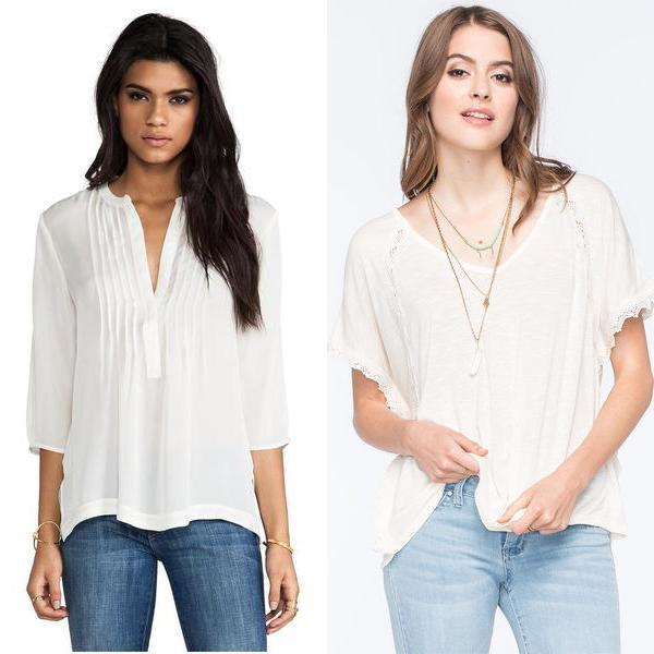 модные блузки 2017 для полных доставка