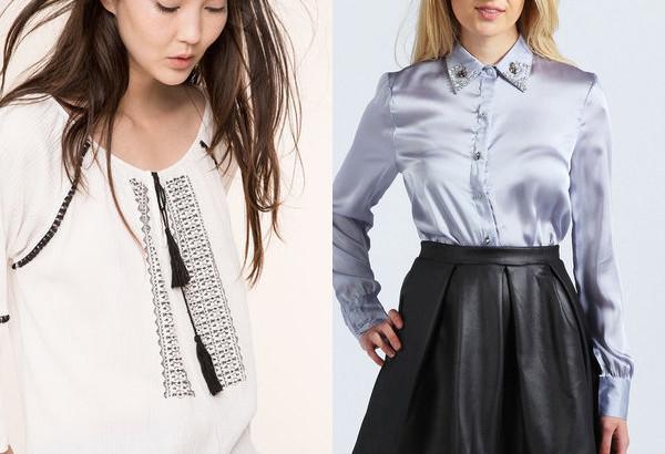 Модные блузки 2017 . Фото последних новинок