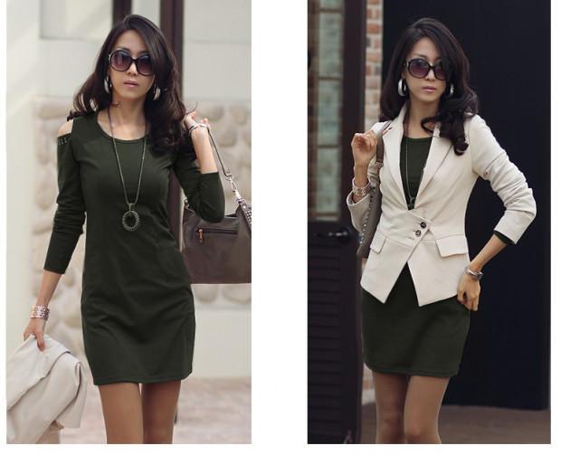 Короткие платья для офиса