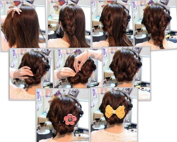 Прически на средние волосы как делать