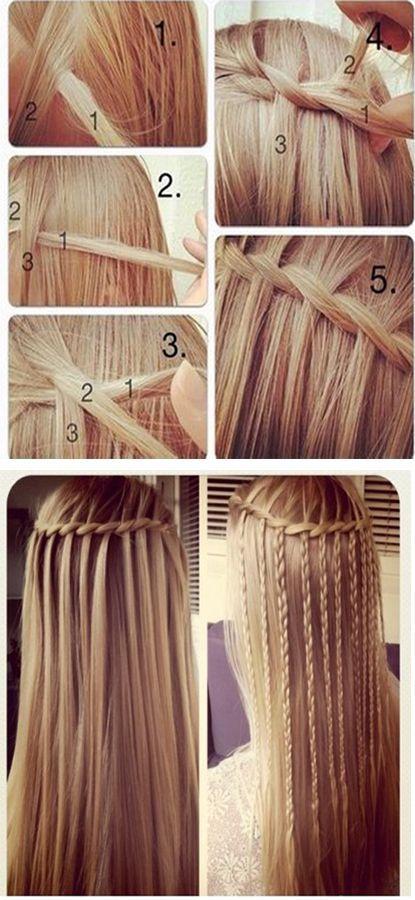 Водопад с косами