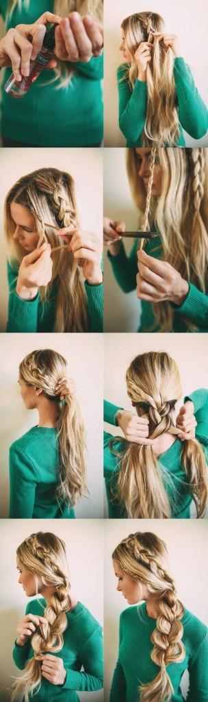 Стильная коса