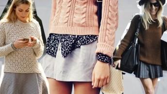 С чем носить свитер – фото стильных образов
