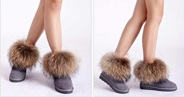 Обувь из меха
