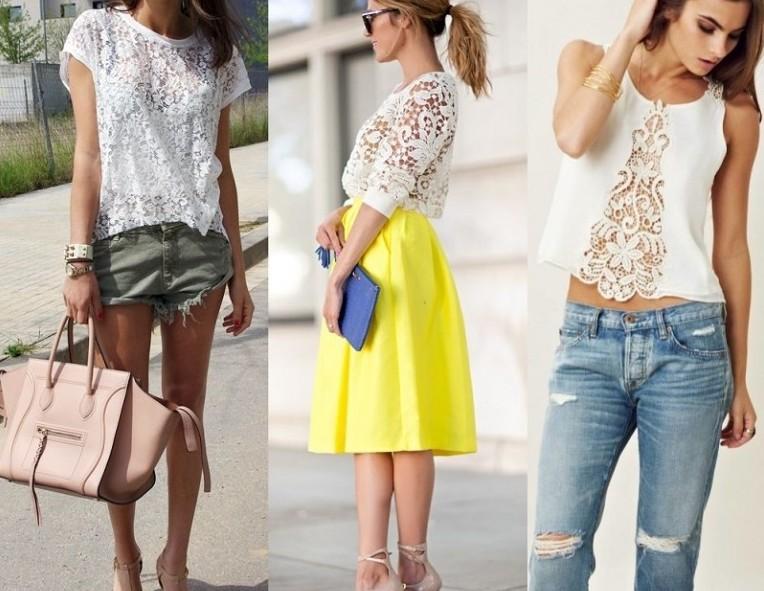 Модные блузки лето 2017 года