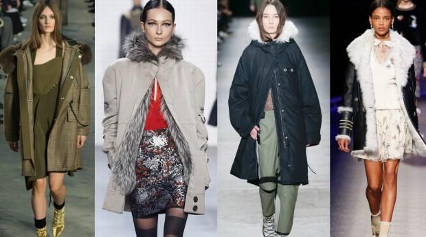Удлиненные куртки в стиле оверсайз
