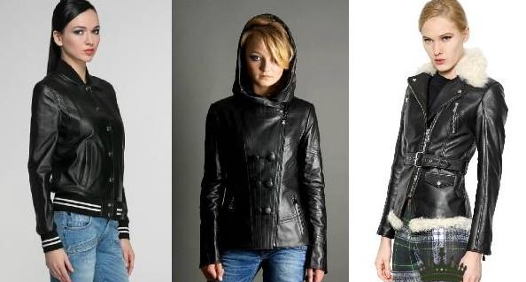 Кожаные куртки для зимы