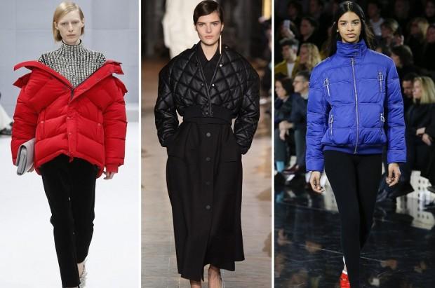 Объемные куртки на зиму