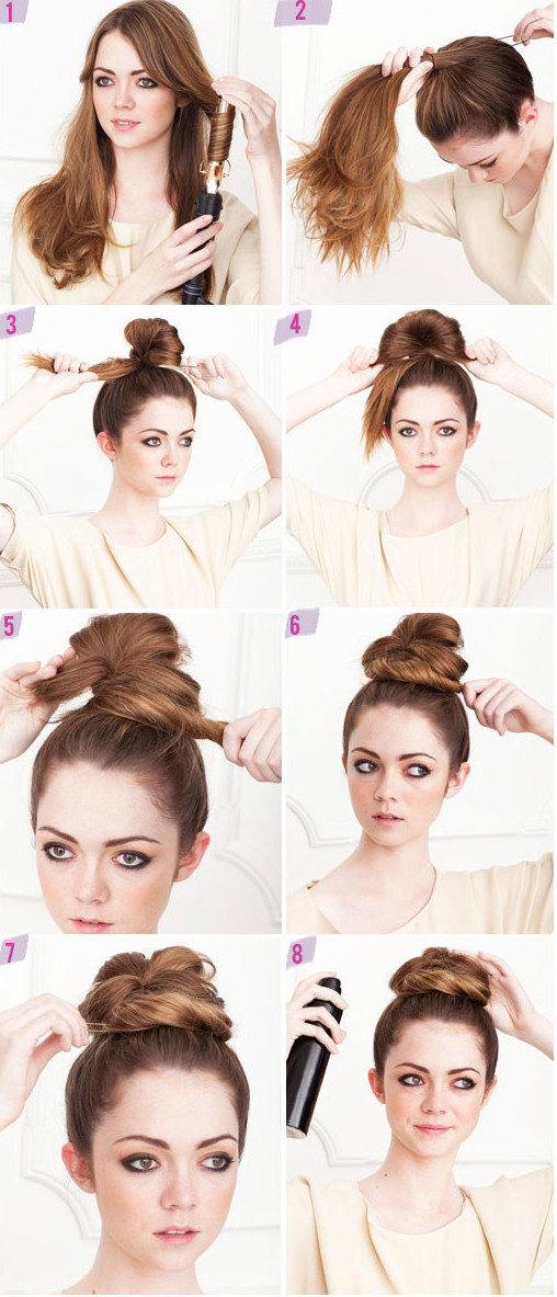 Модные прически на каждый день для средних волос