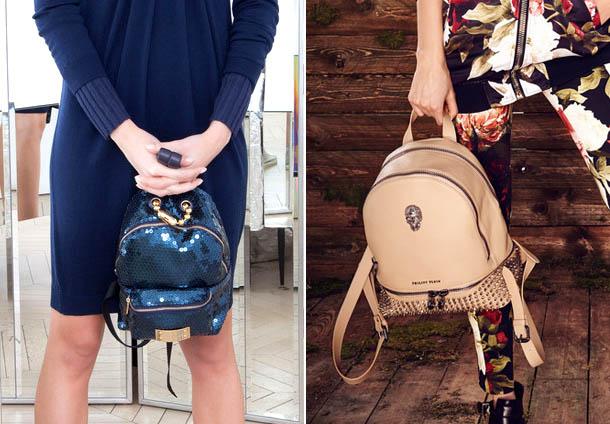 Декорированные рюкзаки
