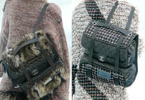 Рюкзаки из меха