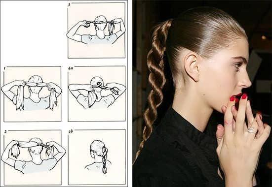 Коса жгутом