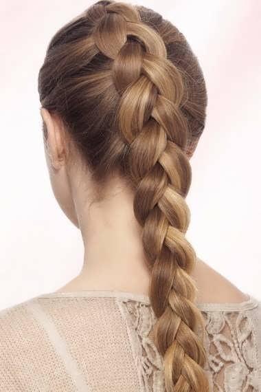 Обратная французская коса