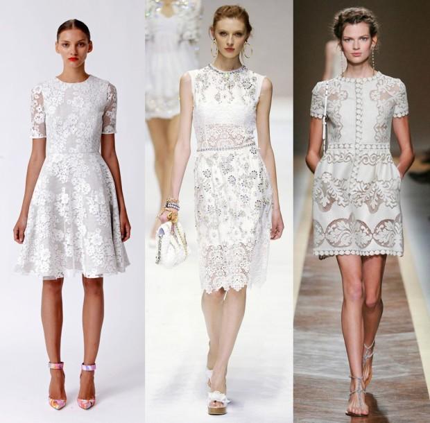61f01830f0ad3b8 Стильные красивые кружевные платья вечерние - Модадром