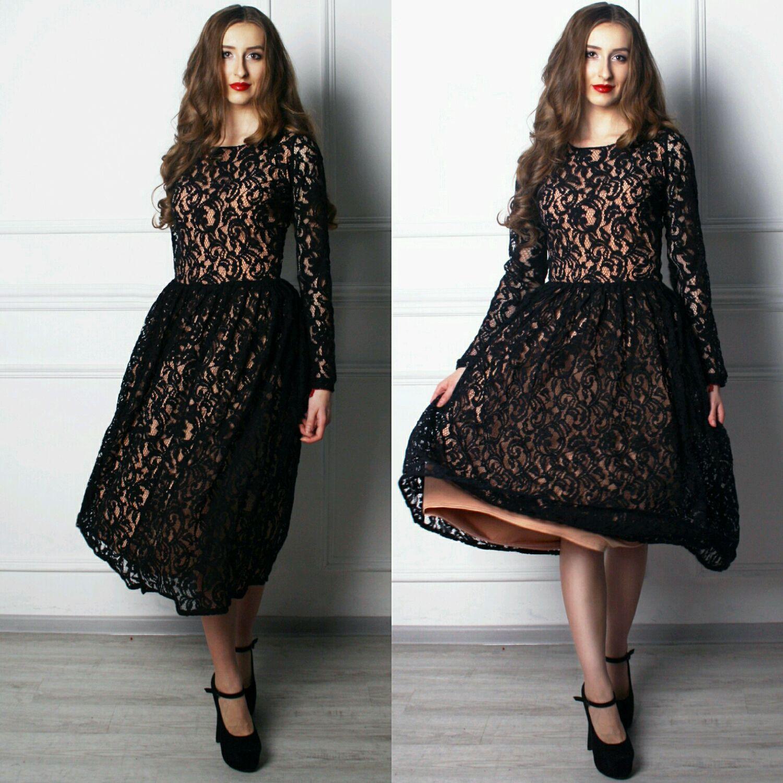 Платье как кружева