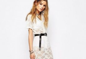 Кружевные платья : фото модных тенденций