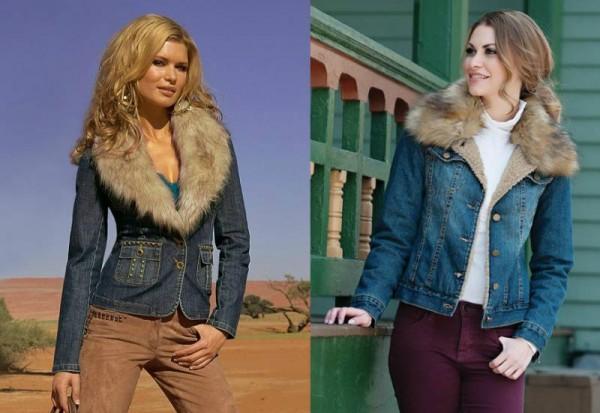 Куртки из денима