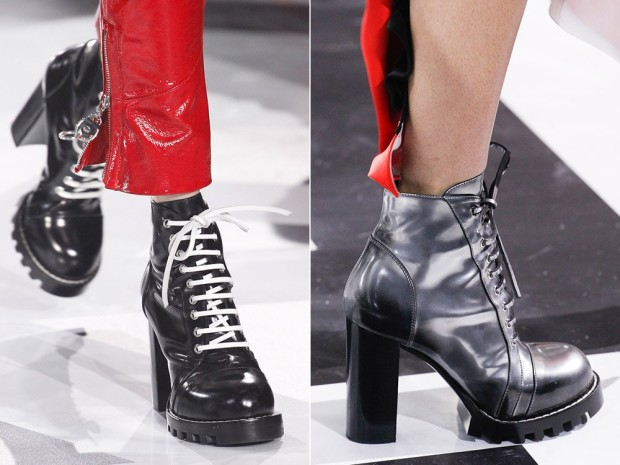 Шнурованные ботинки