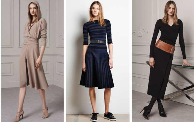 Модели самых модных платьев
