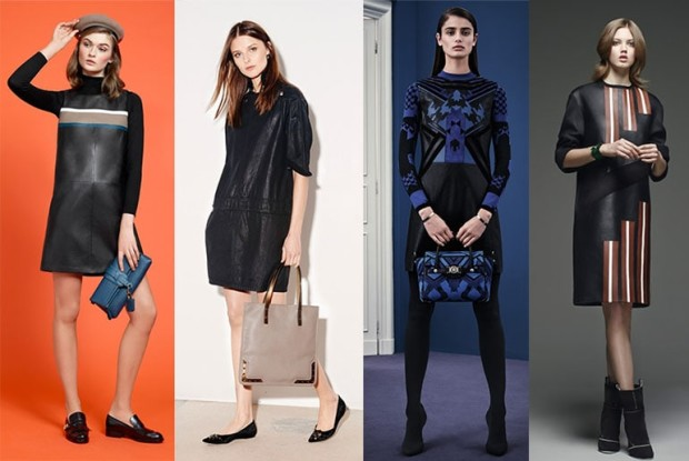 Модные ткани платьев