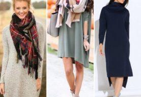 Повседневные платья 2018 : фото самых модных трендов