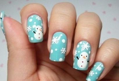 Узоры со снеговиками