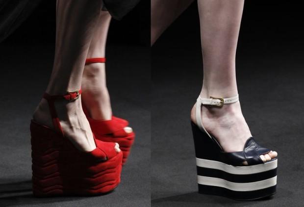 Туфли на платформе 2017 года модные тенденции