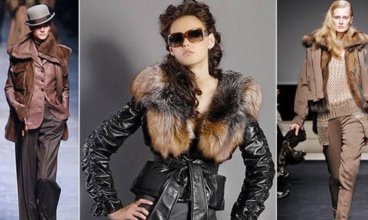 Куртки с мехом : модные тренды, с чем носить